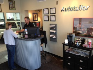 Brent from Autotailor helping a customer